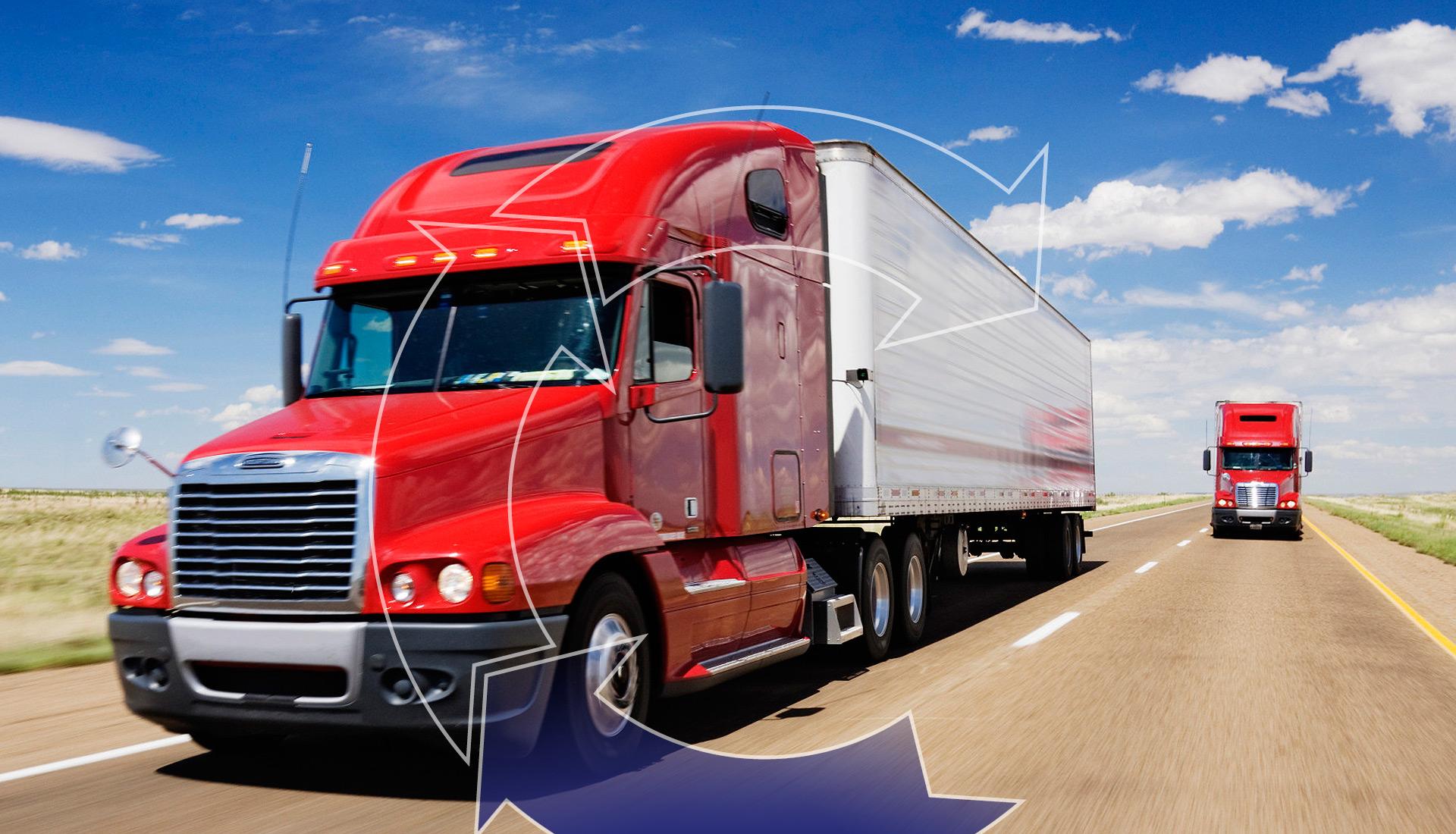 El 55% de las mercancías en México, se transporta por carretera.